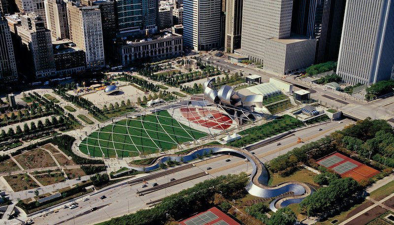 Melhores parques em Chicago: Millennium Park