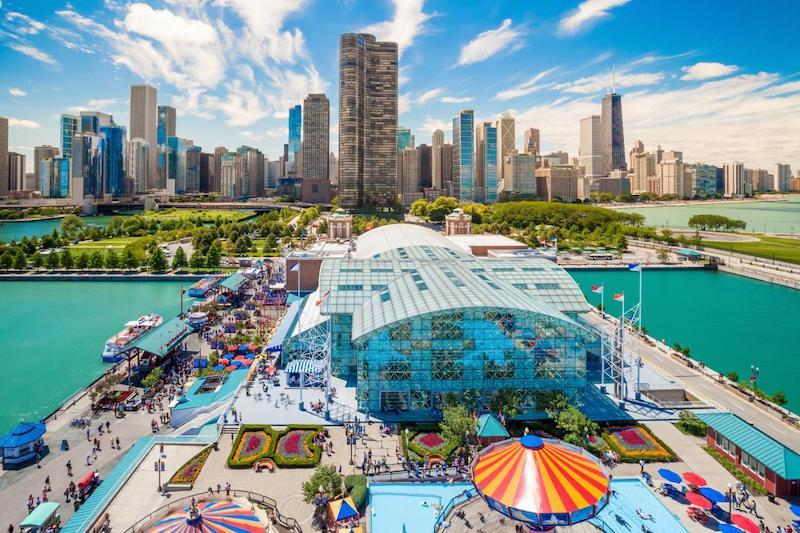 O que fazer com crianças em Chicago: Navy Pier