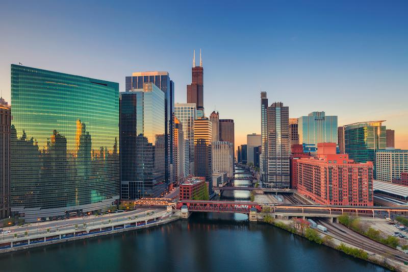 Mapa turístico de Chicago: Chicago Loop