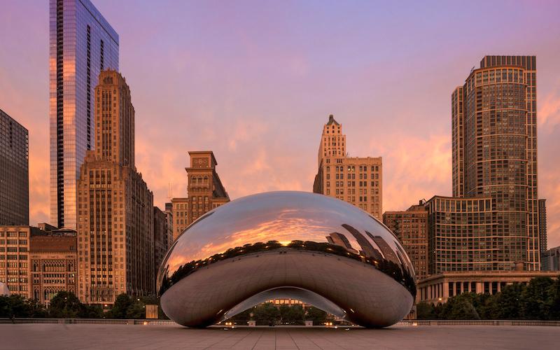 Como economizar muito em Chicago: Cloud Gate no Millennium Park