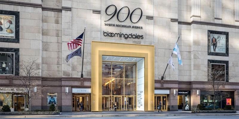 Shoppings em Chicago: 900 North Michigan Shops