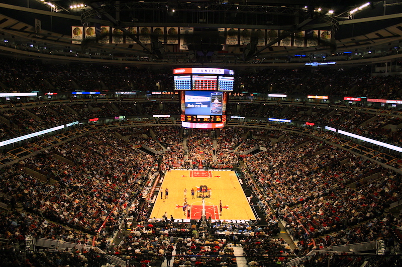 Estádio United Center em Chicago