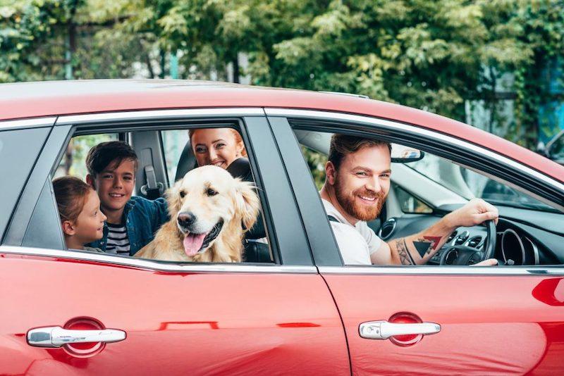 Aluguel de carro em Chicago: família