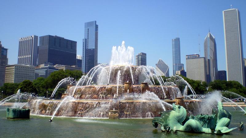 Pontos turísticos em Chicago: Buckingham Fountain