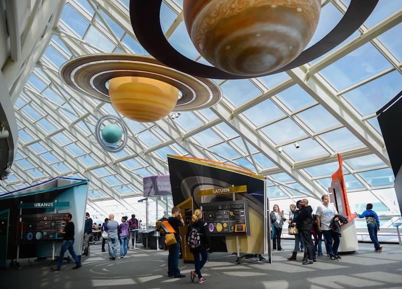 Adler Planetarium em Chicago: interior