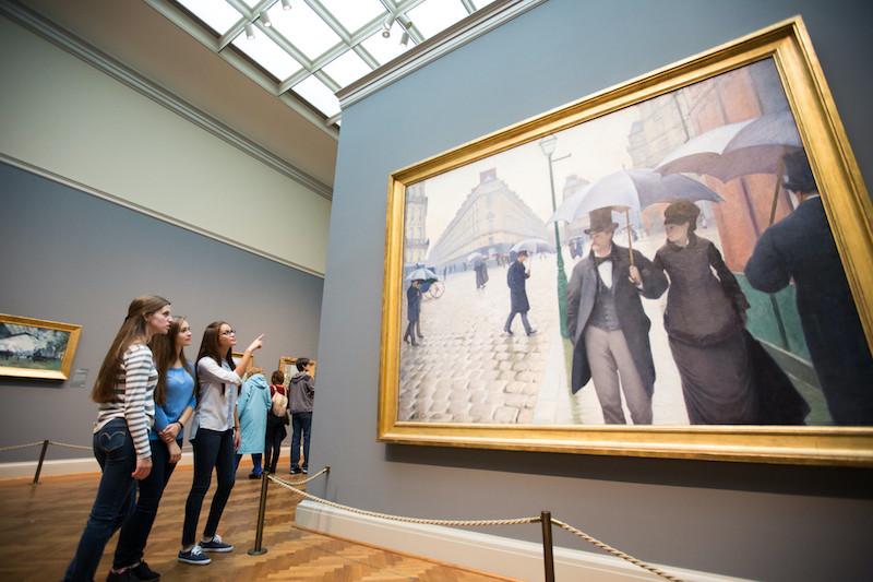 Art Institute of Chicago: exposição de arte