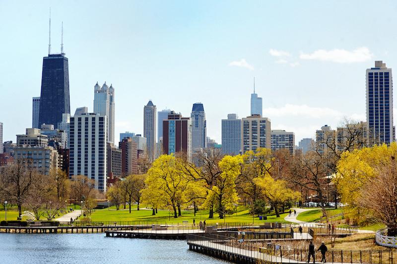 Mapa turístico de Chicago: Lincoln Park