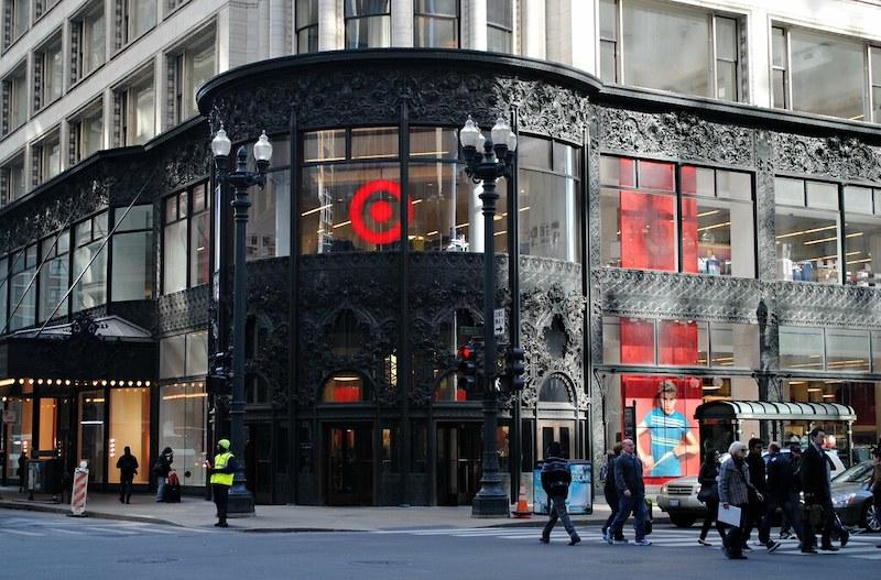 Compras em Chicago: loja Target na State Street