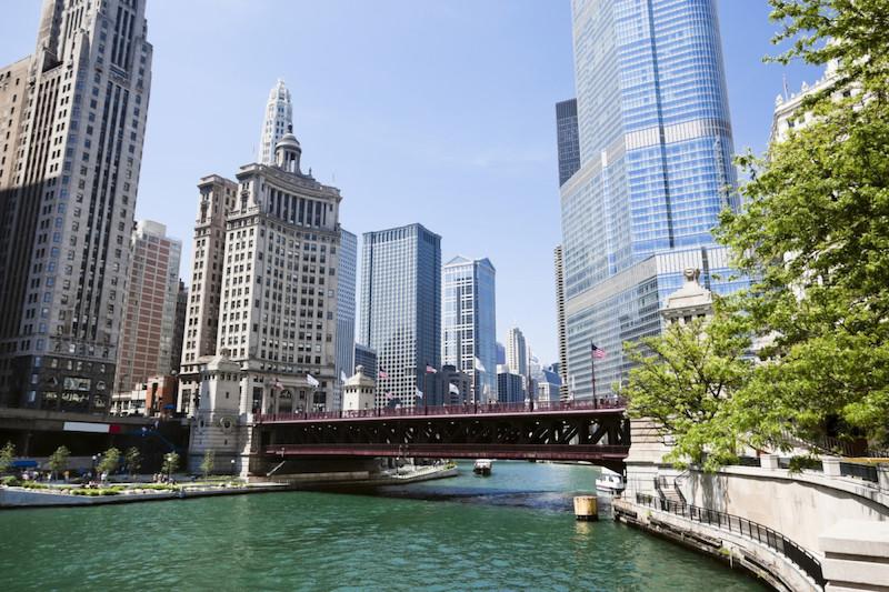 Mapa turístico de Chicago: Magnificent Mile