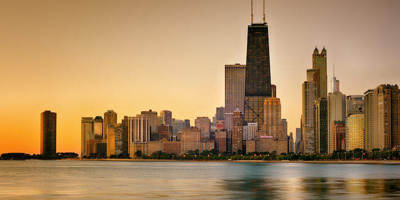 Fuso horário de Chicago x Brasil: manhã
