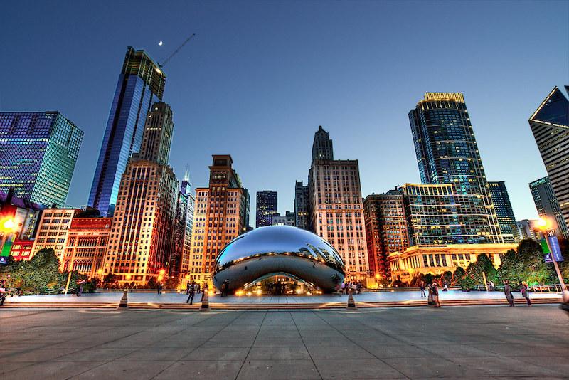 Pontos turísticos em Chicago: Cloud Gate