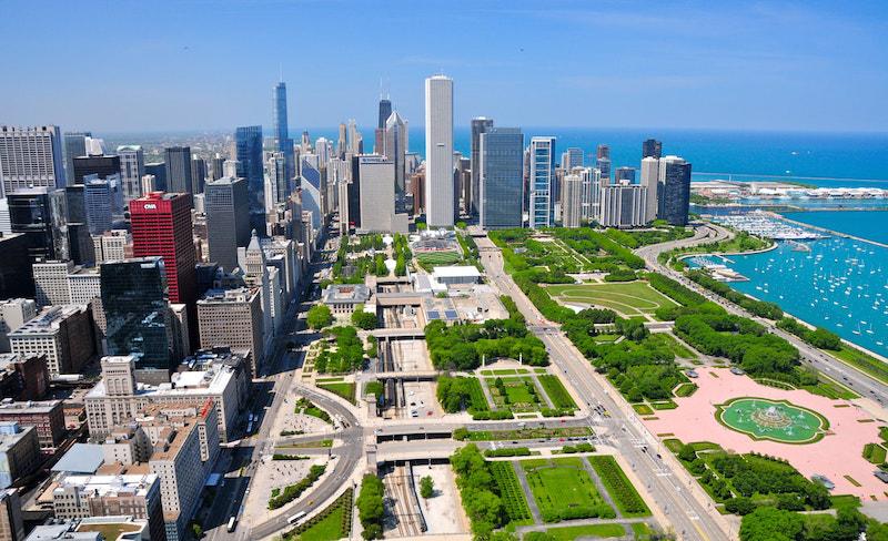 Pontos turísticos em Chicago: Grant Park