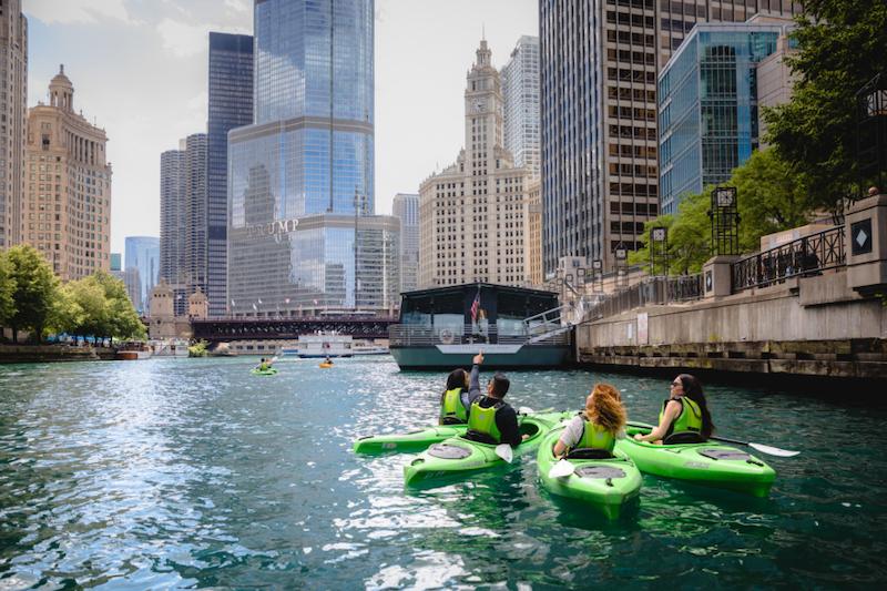 Onde comprar ingressos mais baratos em Chicago: passeio de caiaque