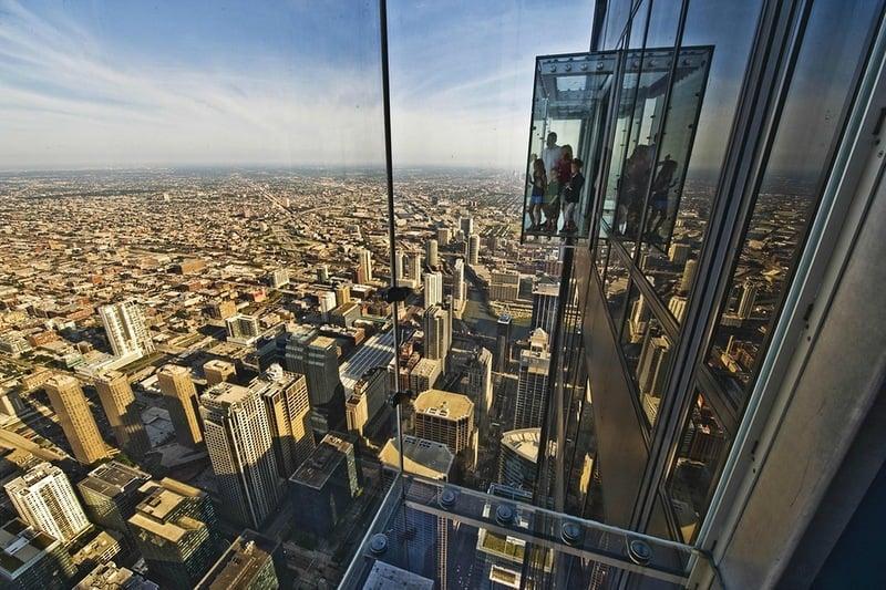 Pontos turísticos em Chicago: Skydeck na Willis Tower