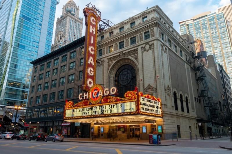Pontos turísticos em Chicago: Chicago Theatre