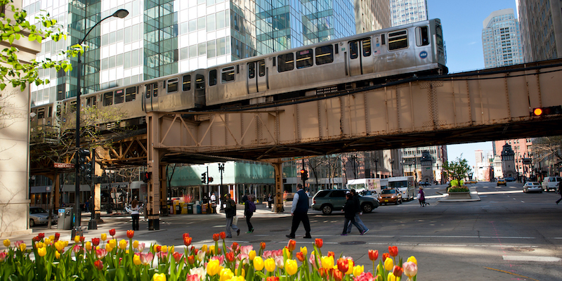 Como economizar muito em Chicago: transportes em Chicago