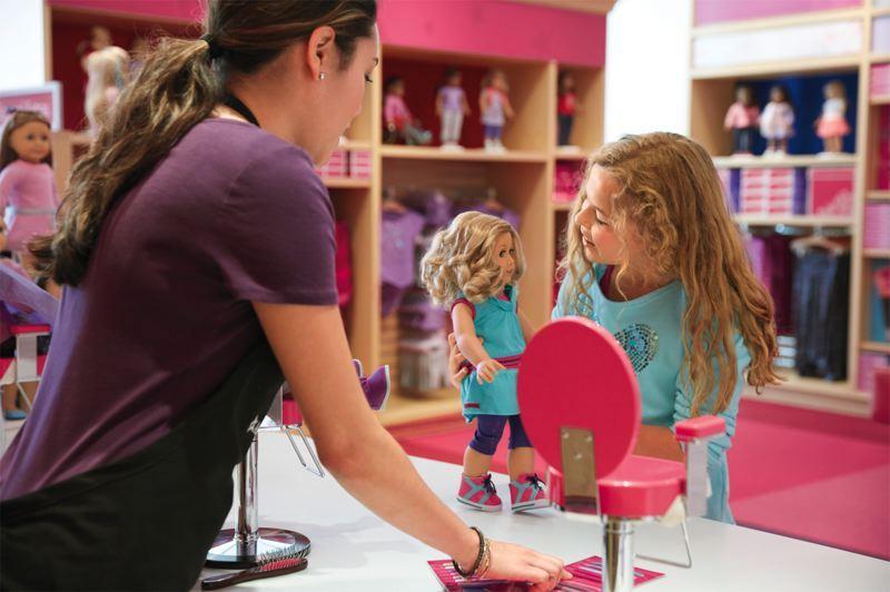 O que fazer com crianças em Chicago: American Girl Place
