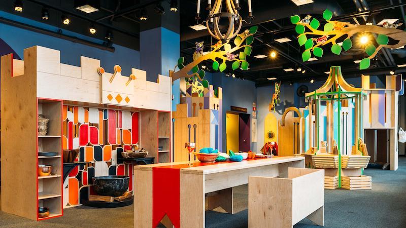 O que fazer com crianças em Chicago: area do Children's Museum