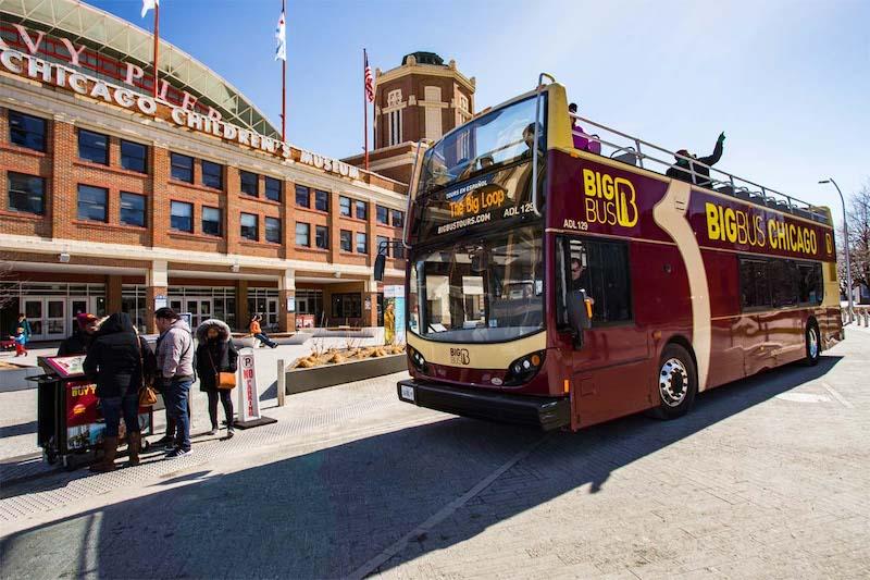 Aproveite diversas atrações com o Go Card Chicago: ônibus turístico Big Bus