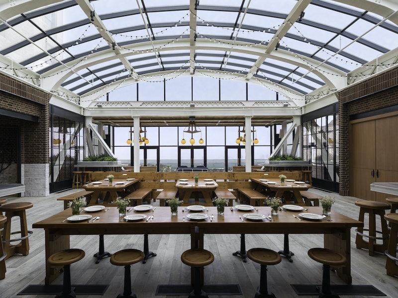 Melhores restaurantes em Chicago: restaurante Cindy's Rooftop
