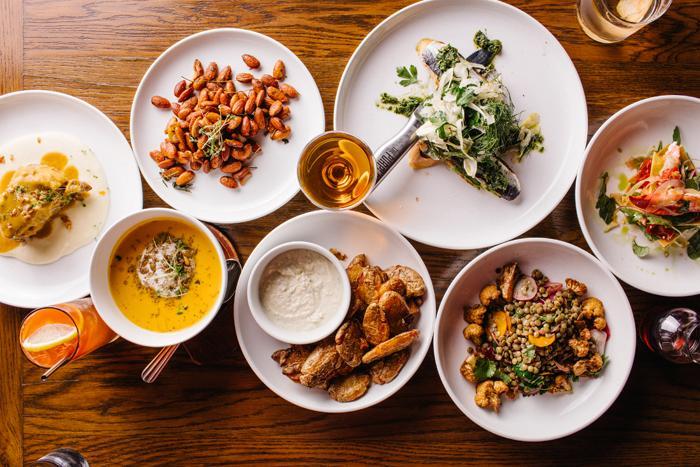 Melhores restaurantes em Chicago: comida no restaurante The Purple Pig
