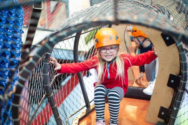 O que fazer com crianças em Chicago: criança no Children's Museum