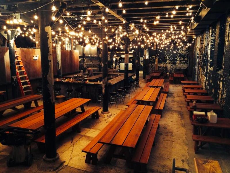 Melhores bares em Chicago: bar Green Street Smoked Meats