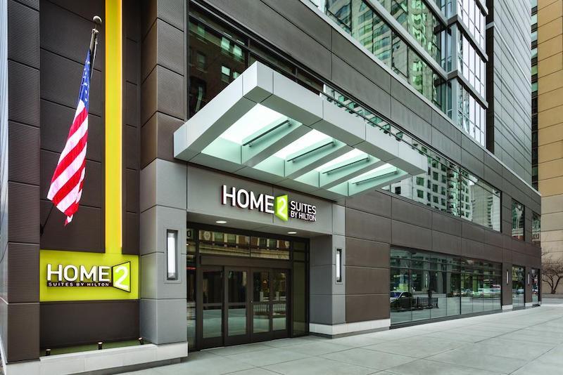 Hotéis bons e baratos em Chicago: hotel Home2 Suites By Hilton Chicago River North