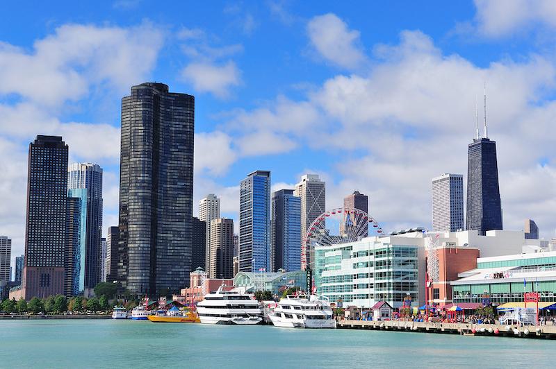 Mapa turístico de Chicago: Navy Pier