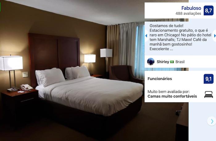 Hotéis bons e baratos em Chicago: quarto do hotel LXG Midway Airport