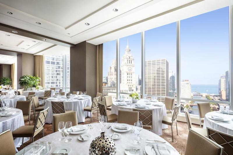 Como achar hotéis ótimos e baratos em Chicago: restaurante do hotel Trump International