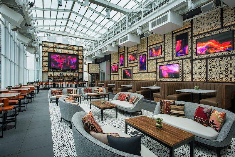 Melhores bares em Chicago: bar Roof on theWit