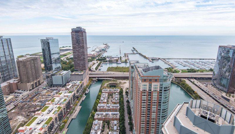 Mapa turístico de Chicago: Streeterville
