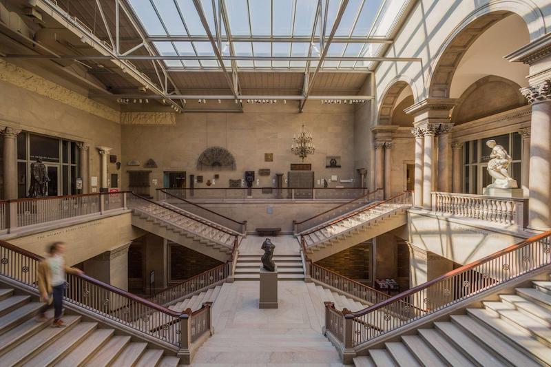 Art Institute of Chicago: interior