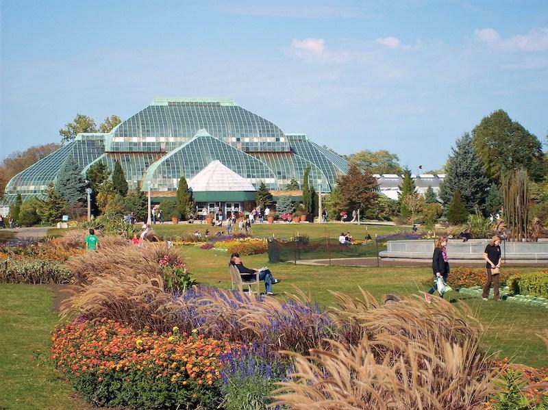 Melhores parques em Chicago: Lincoln Park Conservatory